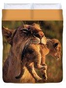 Lion 32 Duvet Cover