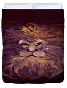 Lion Abstract Duvet Cover