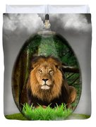Lion Art Duvet Cover