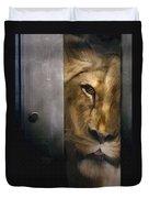 Lion Eye Duvet Cover