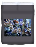 Lion Fish Duvet Cover
