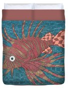Lion Fish Duvet Cover