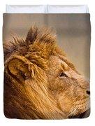 Lion Head Duvet Cover