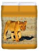 Lion - Id 16235-220310-4716 Duvet Cover