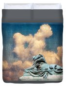 Lion In The Clouds Duvet Cover