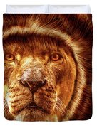 Lion Lady   -1 Duvet Cover