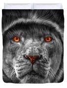 Lion Lady   -3 Duvet Cover