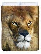 Lion Of Judah II Duvet Cover