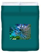 Lion Of The Sea Duvet Cover