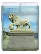 Lion On The North Side Duvet Cover