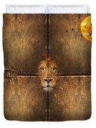Lion Sun Duvet Cover