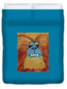 Lion-tailed Macaque Duvet Cover