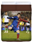 Lionel Messi Duvet Cover