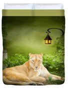 Lioness Dream Duvet Cover