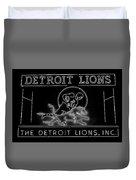 Lions Football Duvet Cover
