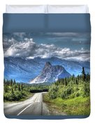 Lion's Head Mountain Duvet Cover