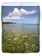 Lion's Head - Summer Afternoon On The Dock Duvet Cover