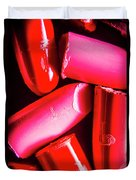 Lipgloss And Letdown Duvet Cover