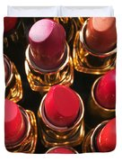 Lipstick Rows Duvet Cover by Garry Gay