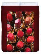 Lipstick Rows Duvet Cover
