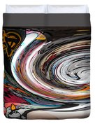 Liquefied Graffiti Duvet Cover