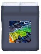 Liquid Abstract Eleven Duvet Cover