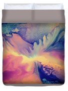 Liquid Abstract Nebula Duvet Cover