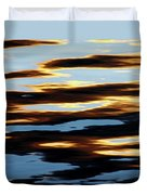 Liquid Setting Sun Duvet Cover
