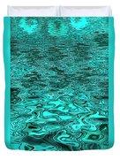 Liquid Teal Duvet Cover
