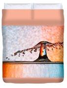 Liquid Umbrella Duvet Cover