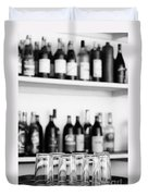 Liquor Bottles Duvet Cover