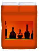 Liquor Still Life Duvet Cover