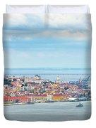 Lisbon 10 Duvet Cover