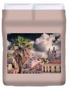 Lisbon Cityscape 4 Duvet Cover