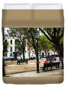 Lisbon High Park Duvet Cover