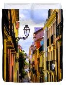Lisbon Hills Duvet Cover