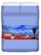 Lisbon Panorama Duvet Cover