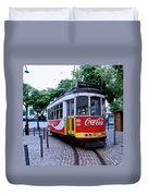 Lisbon Tram Duvet Cover