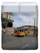 Lisbon Trolley 10 Duvet Cover
