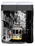 Lisbon Trolley 16c Duvet Cover