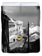 Lisbon Trolley 17c Duvet Cover