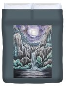 Listen To The Echoes II Duvet Cover