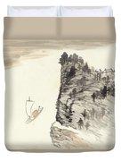 Literati Landscape Duvet Cover