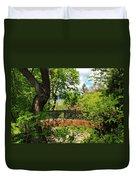 Lithia Park Bridge Duvet Cover