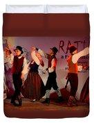 Lithuanian Folk Dance Duvet Cover