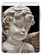 Little Angel - Sepia Duvet Cover
