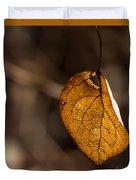 Little Autumn Leaf Duvet Cover