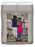 Little Bookworms Duvet Cover