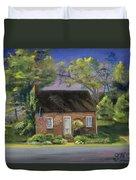 Little Brick House  Duvet Cover
