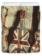 Little Britain, Big Sounds Duvet Cover
